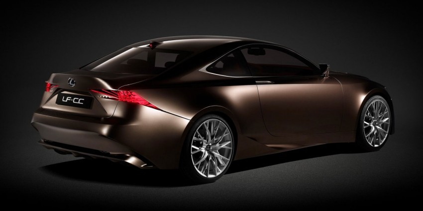 VIDEO: Lexus LF-CC Concept, a glimpse of the new IS Image #134177