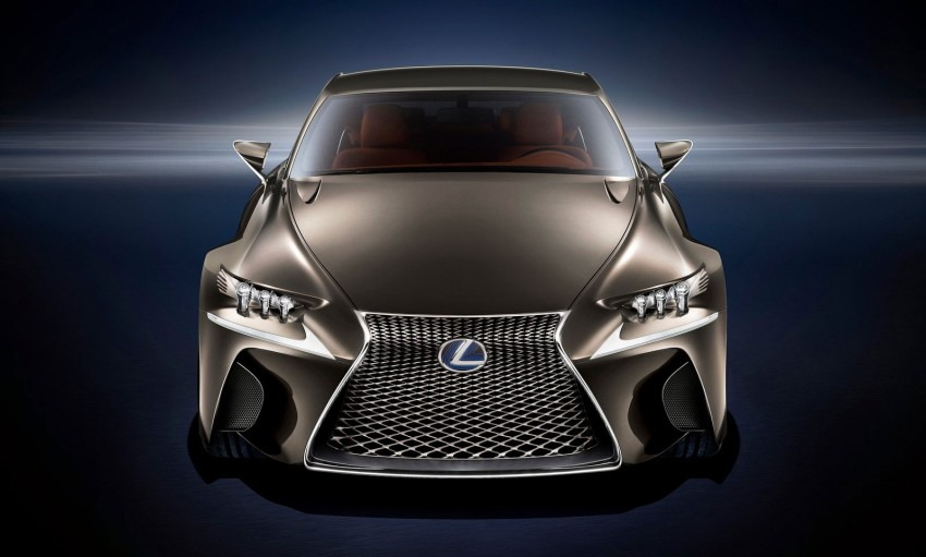 VIDEO: Lexus LF-CC Concept, a glimpse of the new IS Image #134178