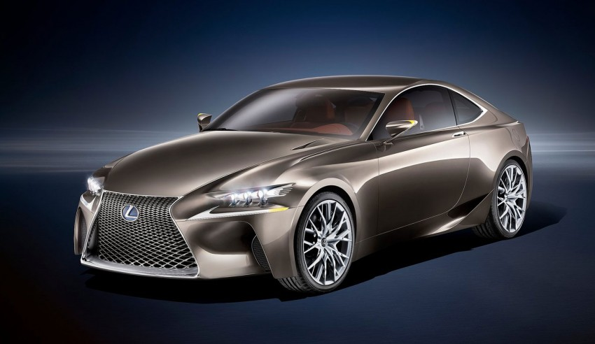 VIDEO: Lexus LF-CC Concept, a glimpse of the new IS Image #134185