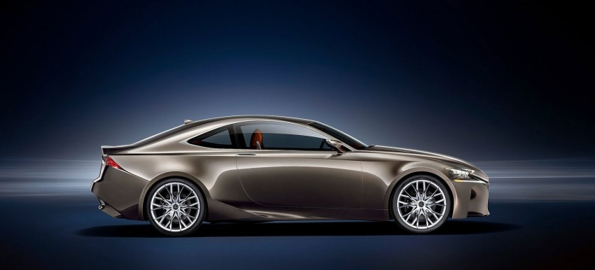 VIDEO: Lexus LF-CC Concept, a glimpse of the new IS Image #134186