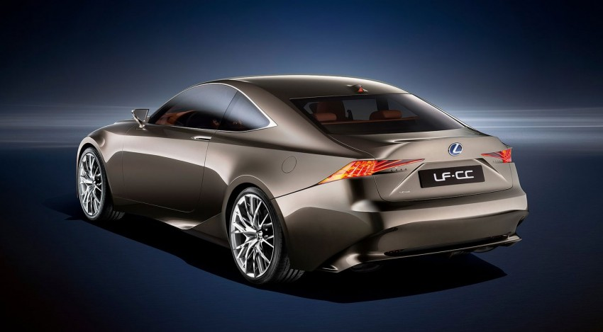 VIDEO: Lexus LF-CC Concept, a glimpse of the new IS Image #134187
