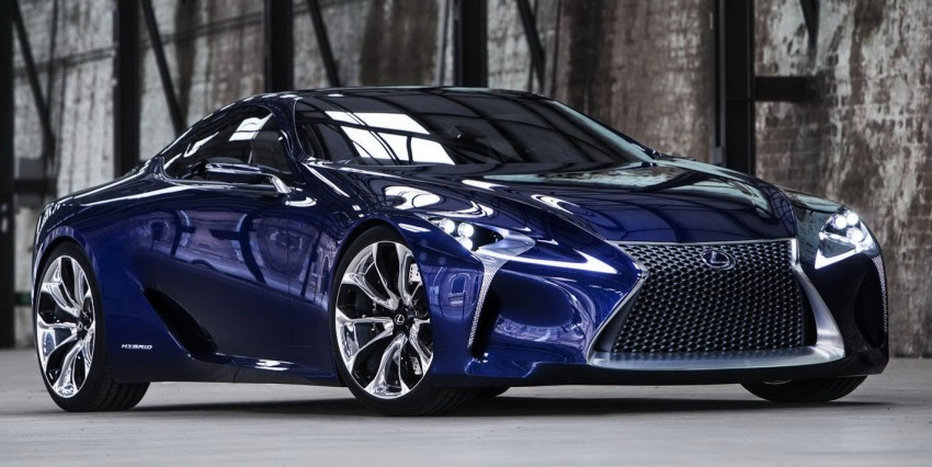 Lexus LF-LC Blue Concept looking great in Sydney Image #136807
