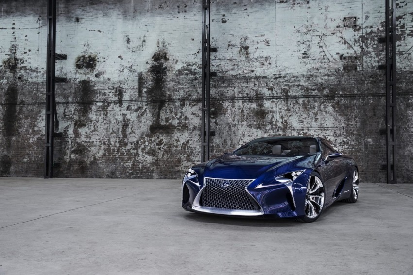 Lexus LF-LC Blue Concept looking great in Sydney Image #136808