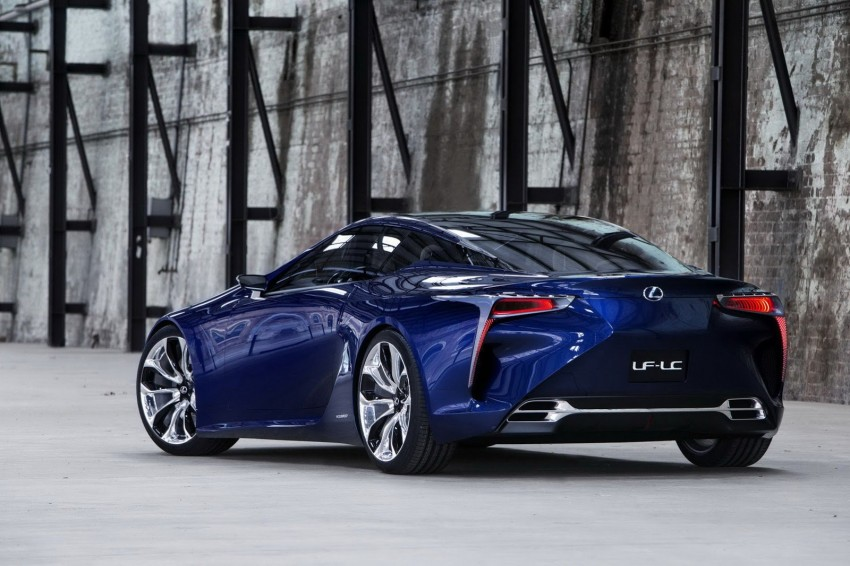 Lexus LF-LC Blue Concept looking great in Sydney Image #136810