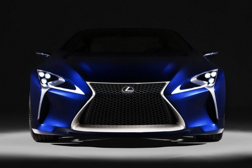 Lexus LF-LC Blue Concept looking great in Sydney Image #136812