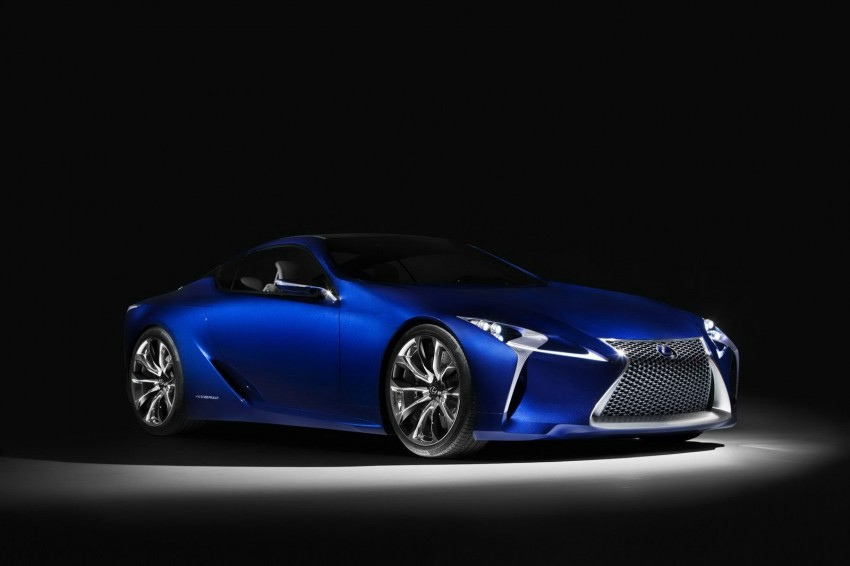 Lexus LF-LC Blue Concept looking great in Sydney Image #136813