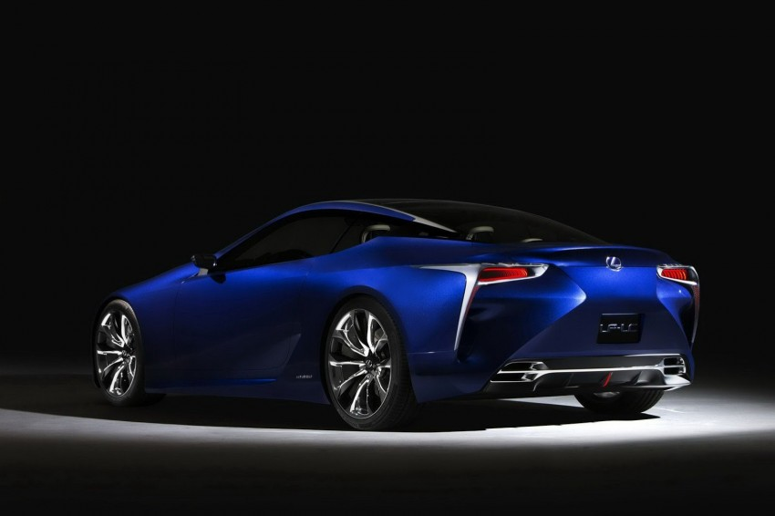 Lexus LF-LC Blue Concept looking great in Sydney Image #136814