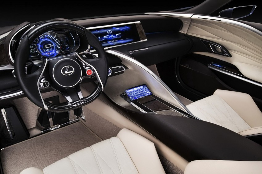 Lexus LF-LC Blue Concept looking great in Sydney Image #136819