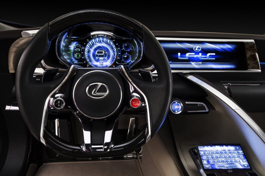 Lexus LF-LC Blue Concept looking great in Sydney Image #136820