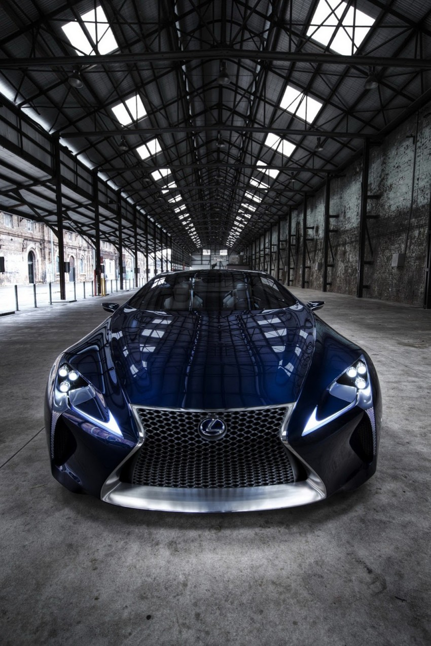 Lexus LF-LC Blue Concept looking great in Sydney Image #136822