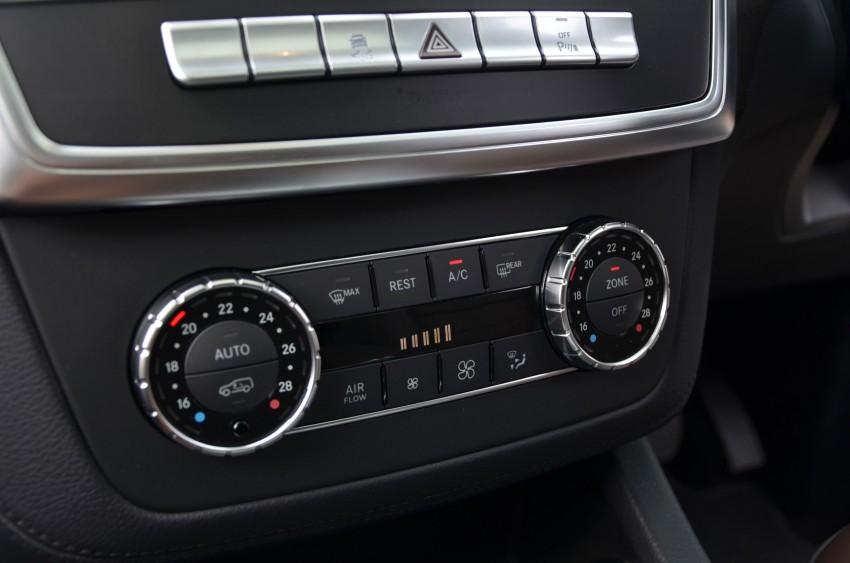 DRIVEN: Mercedes-Benz M-Class ML 350 4MATIC BlueEFFICIENCY previewed – a quick return to KL Image #120159