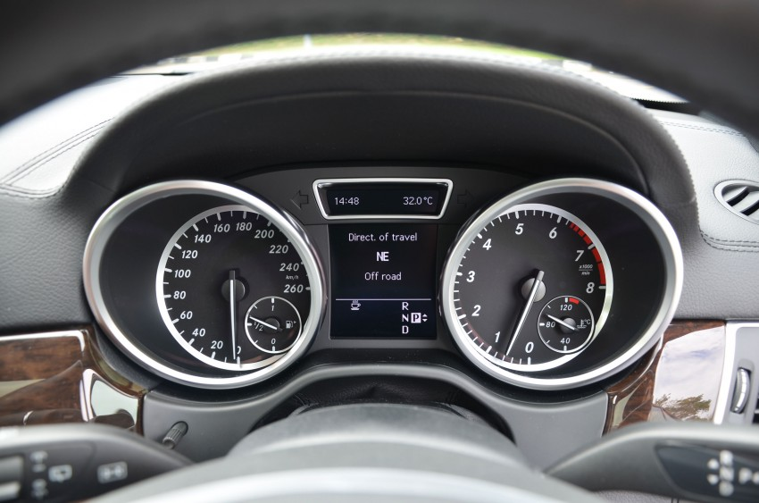 DRIVEN: Mercedes-Benz M-Class ML 350 4MATIC BlueEFFICIENCY previewed – a quick return to KL Image #120164