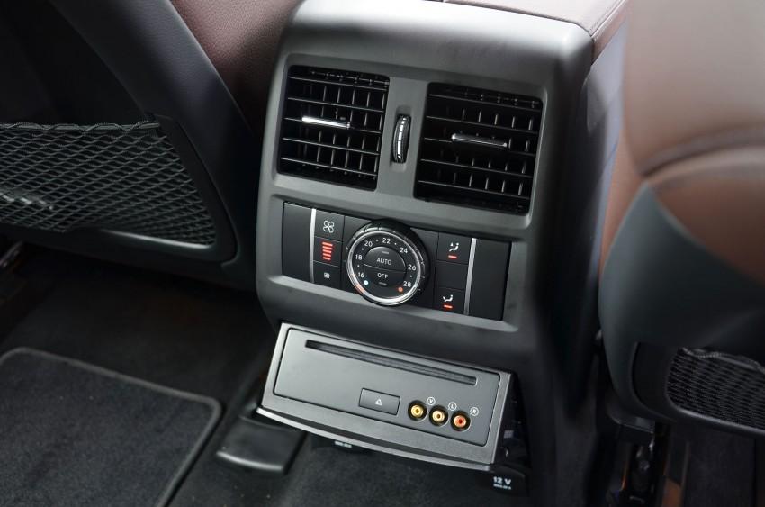 DRIVEN: Mercedes-Benz M-Class ML 350 4MATIC BlueEFFICIENCY previewed – a quick return to KL Image #120168