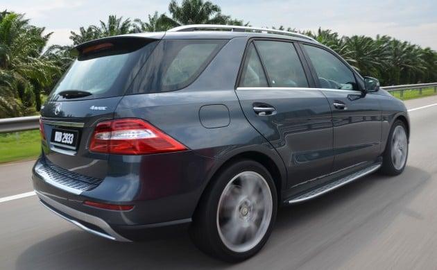 DRIVEN: Mercedes-Benz M-Class ML 350 4MATIC BlueEFFICIENCY previewed