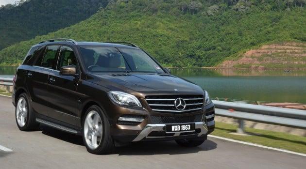 Driven Mercedes Benz M Class Ml 350 4matic Blueefficiency Previewed A Quick Return To Kl