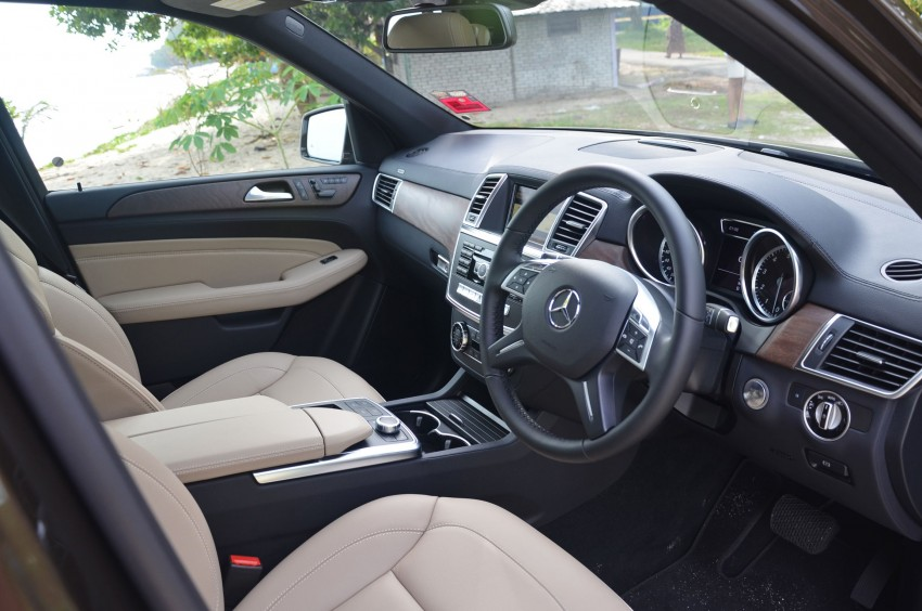 DRIVEN: Mercedes-Benz M-Class ML 350 4MATIC BlueEFFICIENCY previewed – a quick return to KL Image #120169