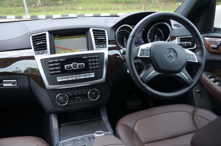 DRIVEN: Mercedes-Benz M-Class ML 350 4MATIC BlueEFFICIENCY previewed – a quick return to KL Image #120172