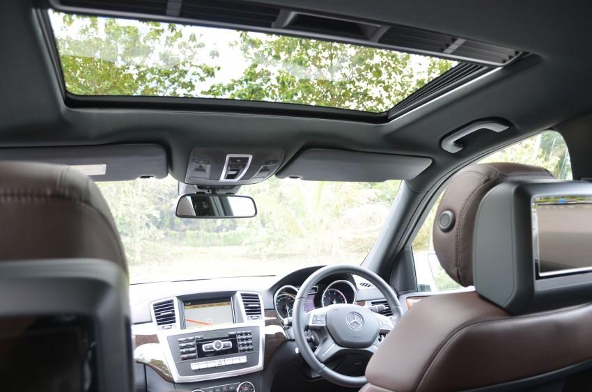 DRIVEN: Mercedes-Benz M-Class ML 350 4MATIC BlueEFFICIENCY previewed – a quick return to KL Image #120173