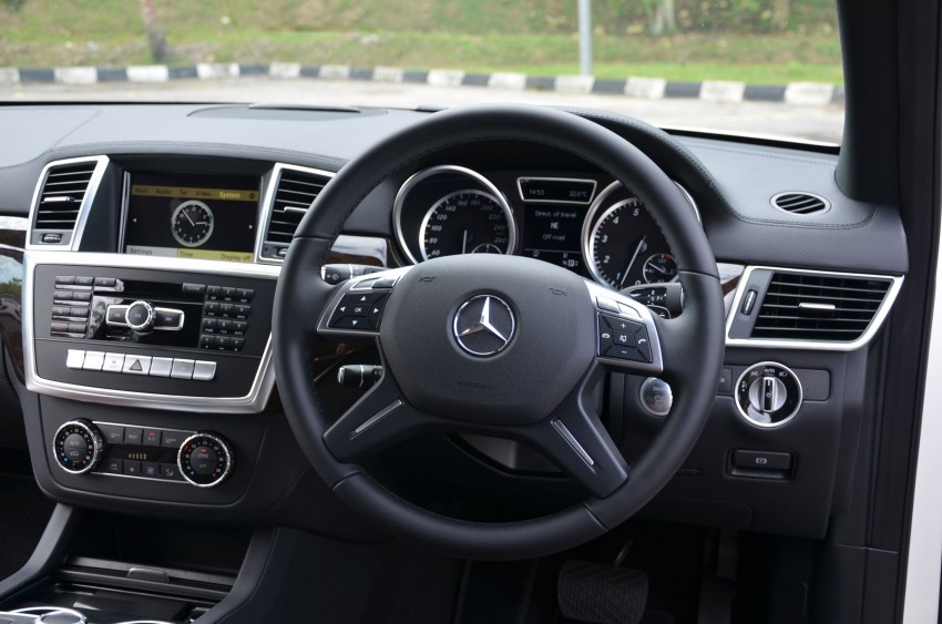 DRIVEN: Mercedes-Benz M-Class ML 350 4MATIC BlueEFFICIENCY previewed – a quick return to KL Image #120174