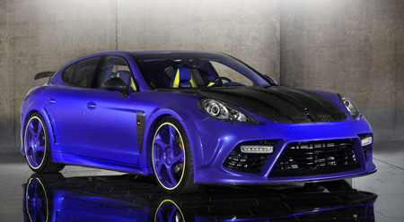 Mansory S Panamera Has 690 Bhp And Toy Car Looks