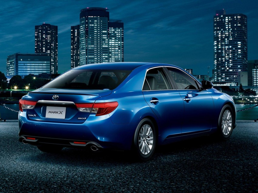 Second-gen Toyota Mark X gets aggressive facelift Image #127527