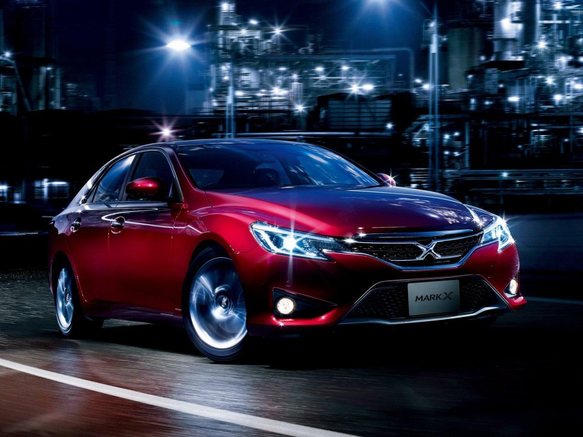 Second-gen Toyota Mark X gets aggressive facelift Image #127528