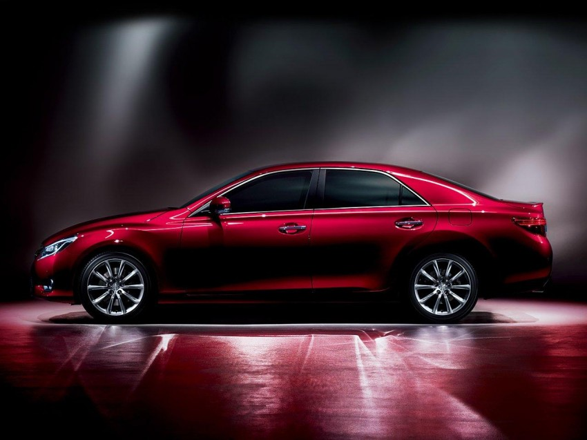 Second-gen Toyota Mark X gets aggressive facelift Image #127531