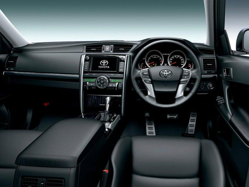 Second-gen Toyota Mark X gets aggressive facelift Image #127532