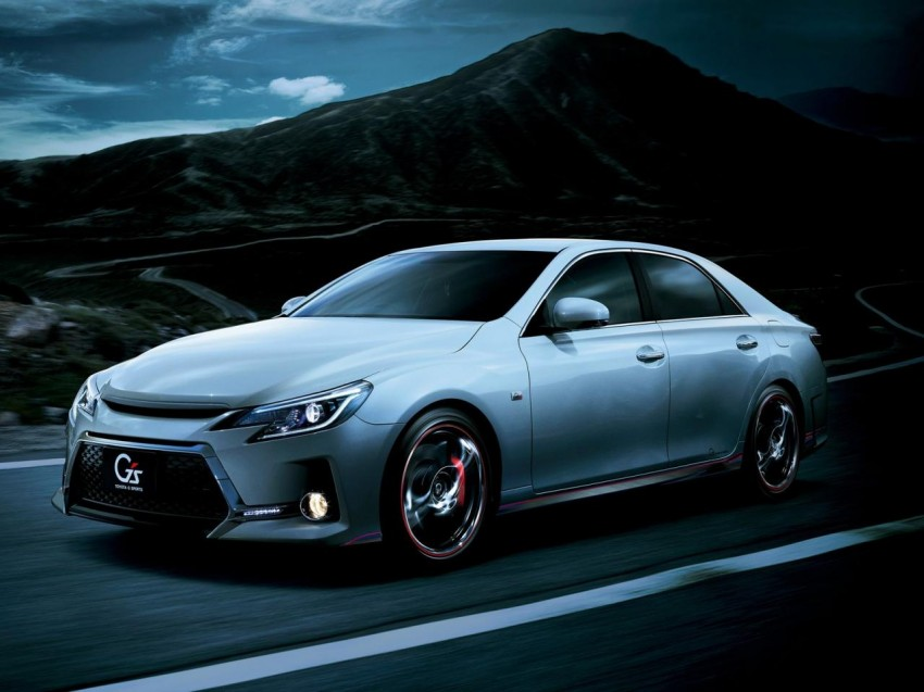 Second-gen Toyota Mark X gets aggressive facelift Image #127533