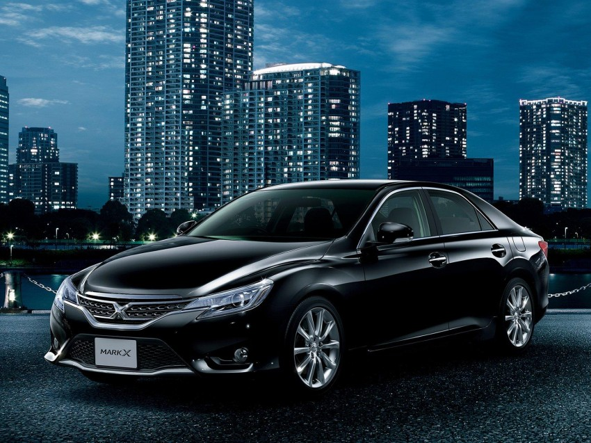 Second-gen Toyota Mark X gets aggressive facelift Image #127535