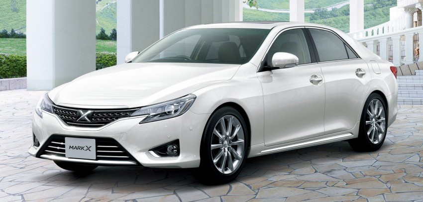 Second-gen Toyota Mark X gets aggressive facelift Image #127537