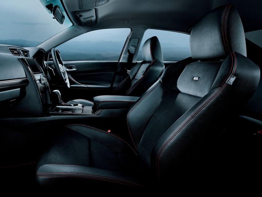 Second-gen Toyota Mark X gets aggressive facelift Image #127539