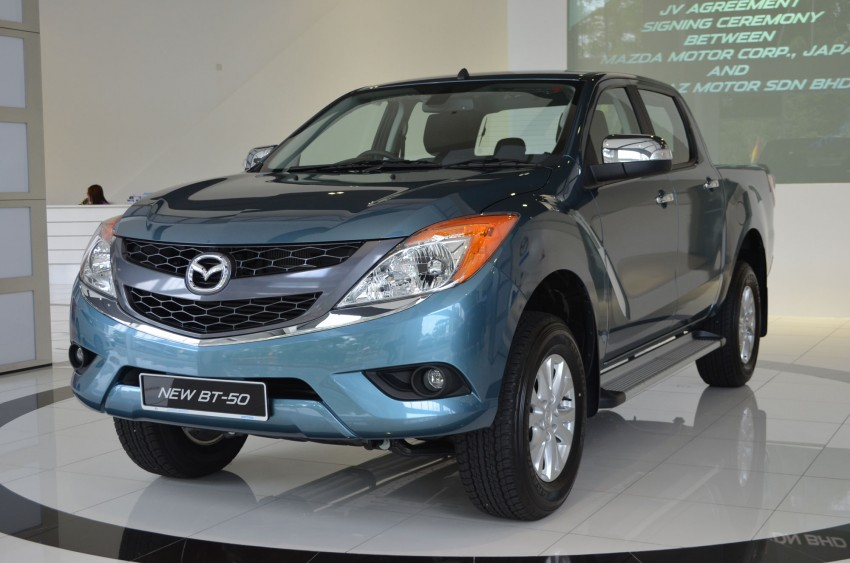 Mazda BT-50 truck – full live gallery, specs and prices Image #130519