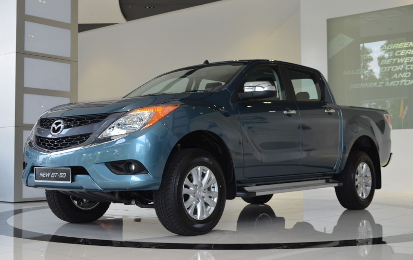 Mazda BT-50 truck – full live gallery, specs and prices Image #130520