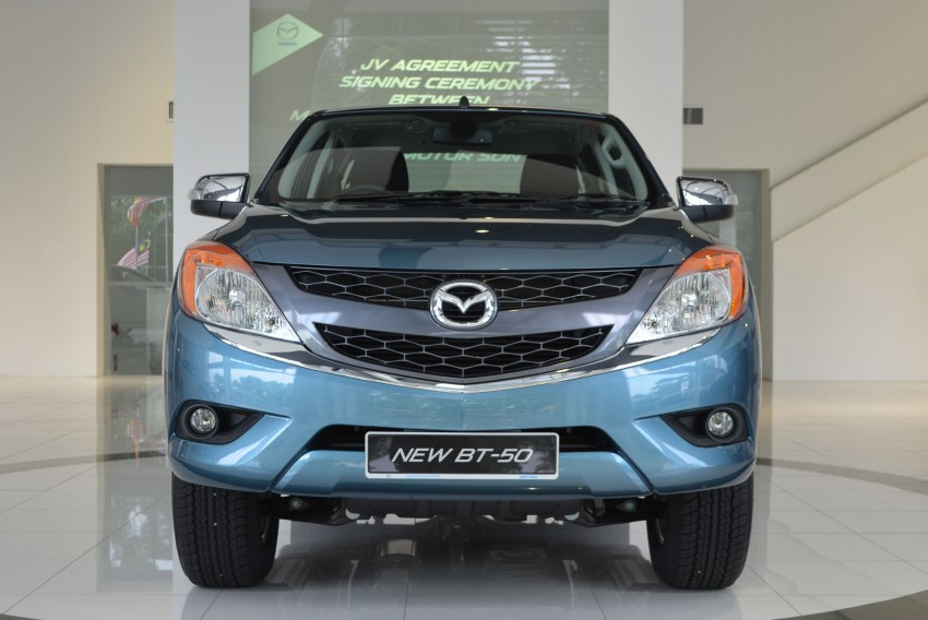 Mazda BT-50 truck – full live gallery, specs and prices Image #130521