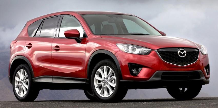 GALLERY: Mazda CX-5 gets Kodo looks and Skyactiv tech Image #77704