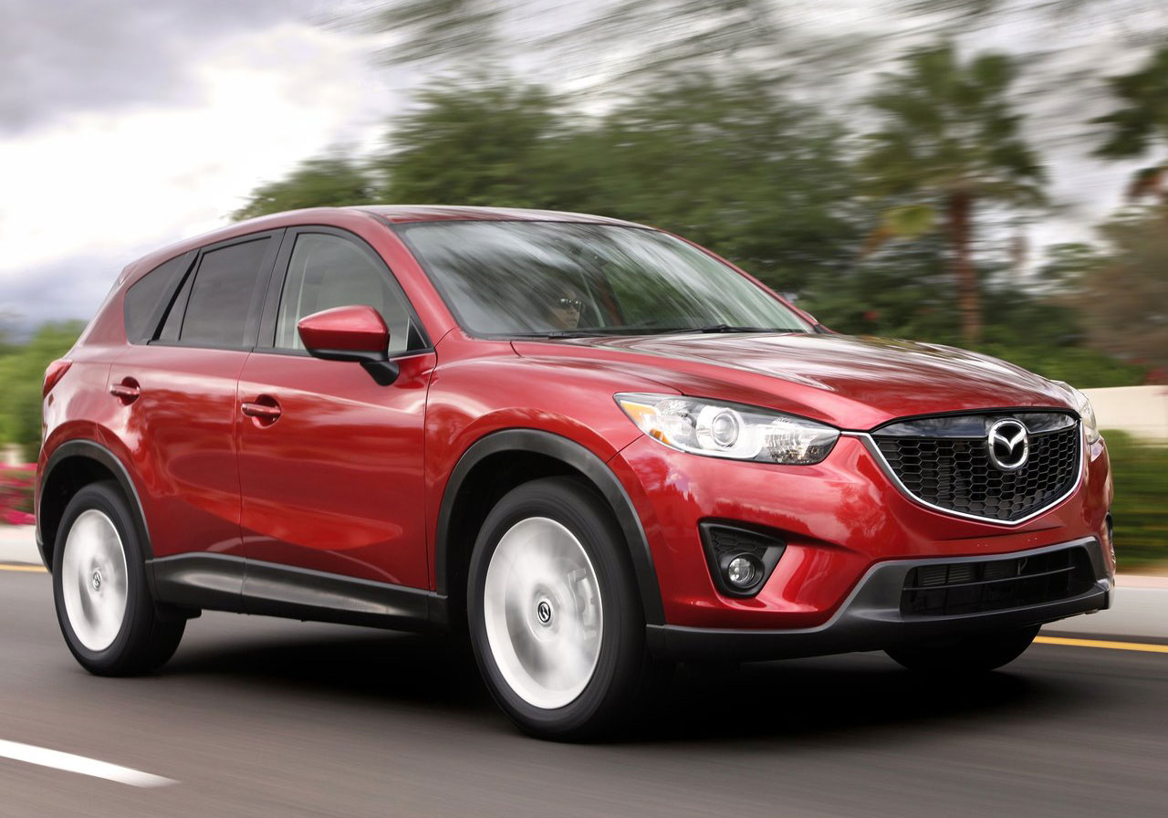 gallery mazda cx 5 gets kodo looks and skyactiv tech. Black Bedroom Furniture Sets. Home Design Ideas