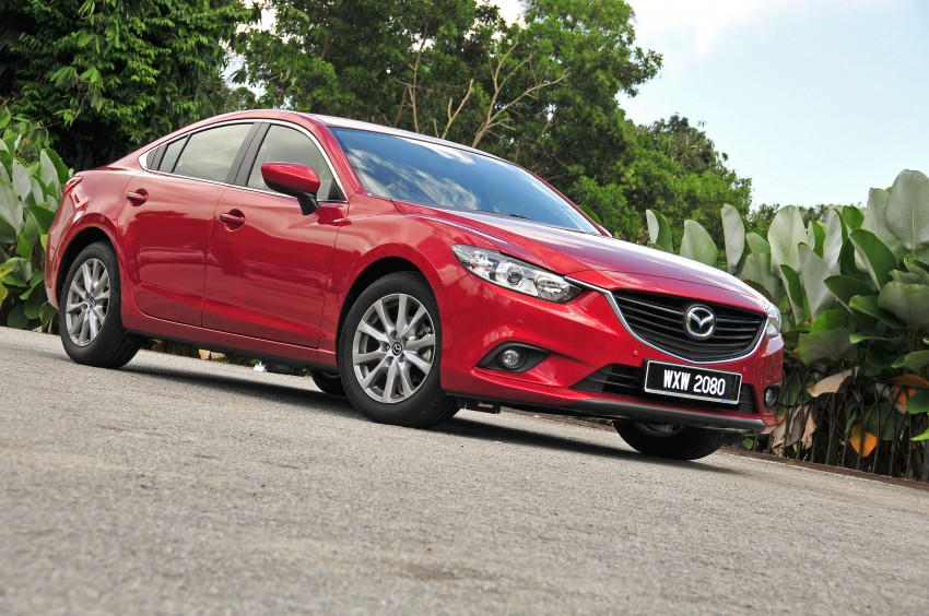 DRIVEN: New Mazda6 sedan to Bukit Tinggi and back Image #152026