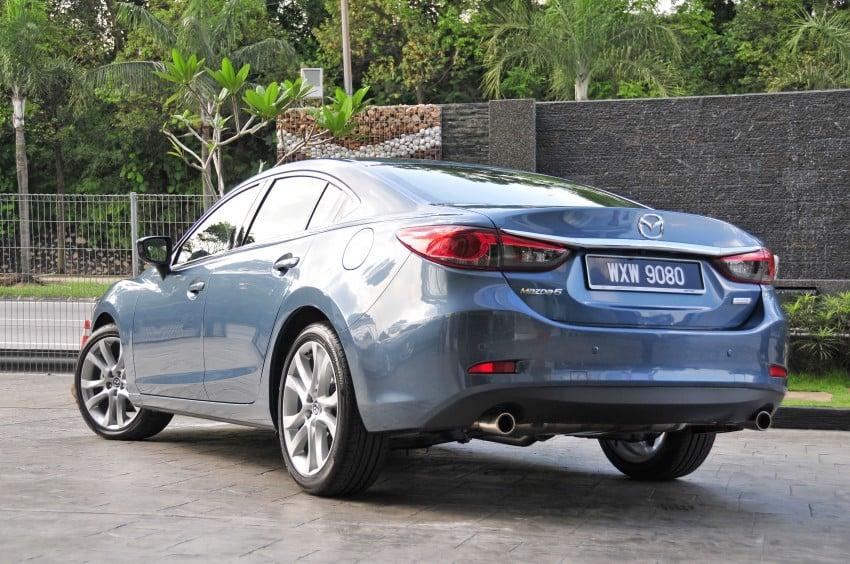 DRIVEN: New Mazda6 sedan to Bukit Tinggi and back Image #152029