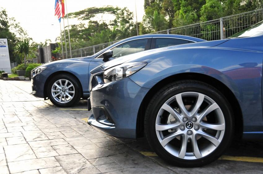 DRIVEN: New Mazda6 sedan to Bukit Tinggi and back Image #152074