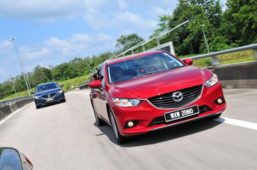 DRIVEN: New Mazda6 sedan to Bukit Tinggi and back Image #152045