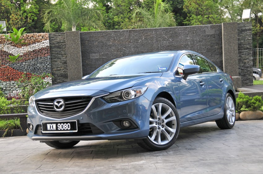 DRIVEN: New Mazda6 sedan to Bukit Tinggi and back Image #152037