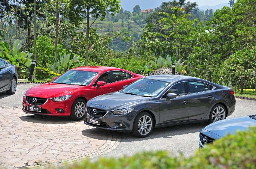 DRIVEN: New Mazda6 sedan to Bukit Tinggi and back Image #152041
