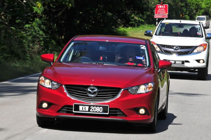 DRIVEN: New Mazda6 sedan to Bukit Tinggi and back Image #152047
