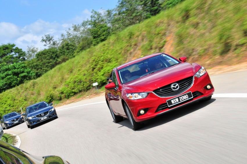 DRIVEN: New Mazda6 sedan to Bukit Tinggi and back Image #152044