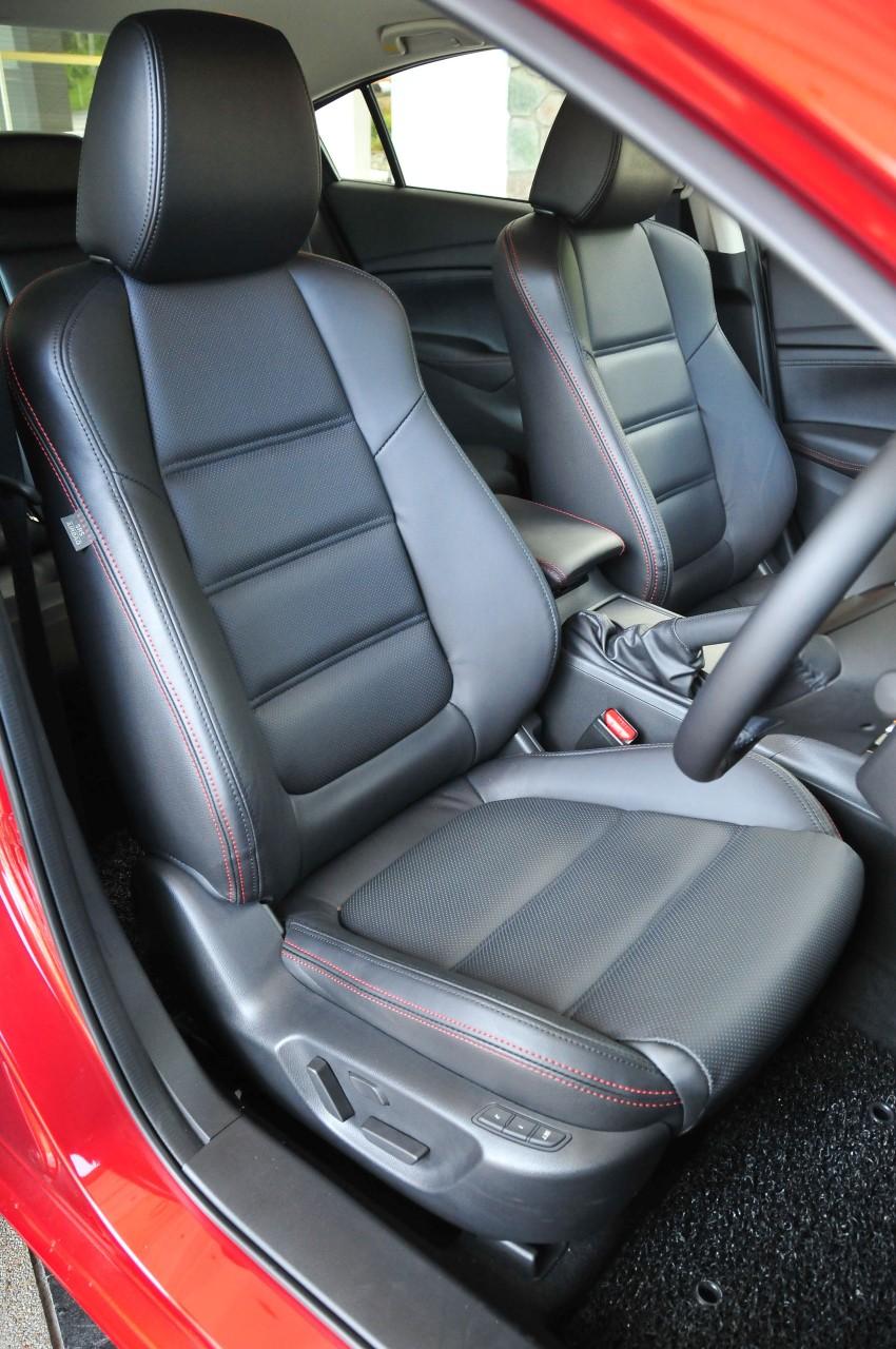 DRIVEN: New Mazda6 sedan to Bukit Tinggi and back Image #152048
