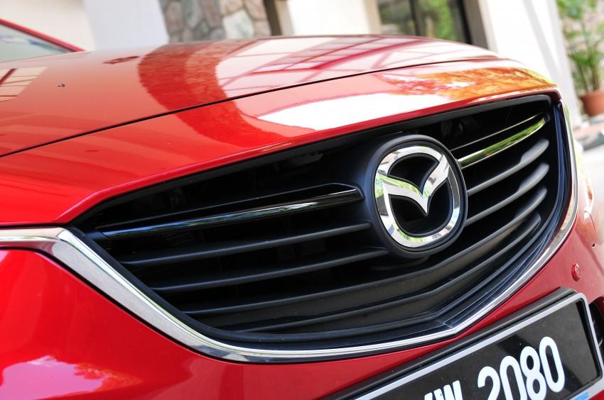 DRIVEN: New Mazda6 sedan to Bukit Tinggi and back Image #152050