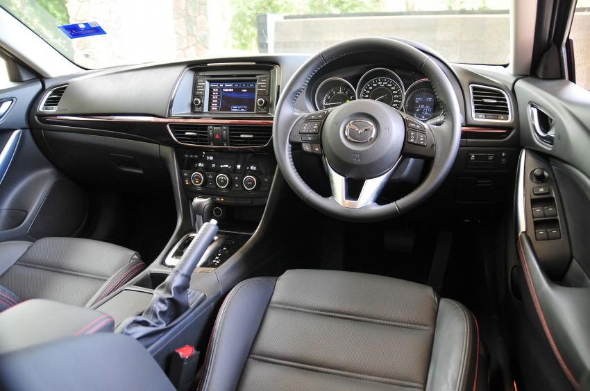 DRIVEN: New Mazda6 sedan to Bukit Tinggi and back Image #152054