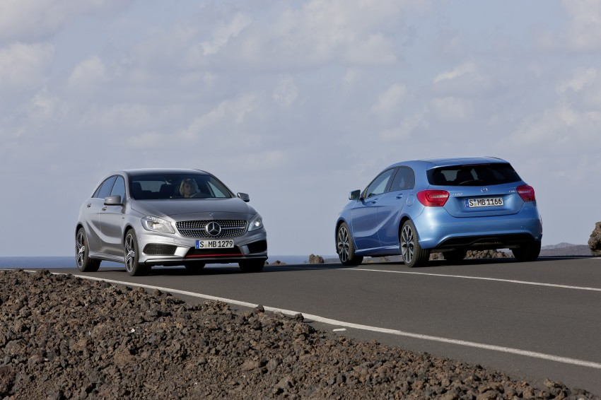 Mercedes-Benz A-Class – third-gen takes over the mantle Image #92611