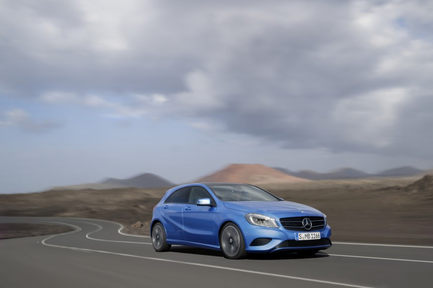 Mercedes-Benz A-Class – third-gen takes over the mantle Image #92603